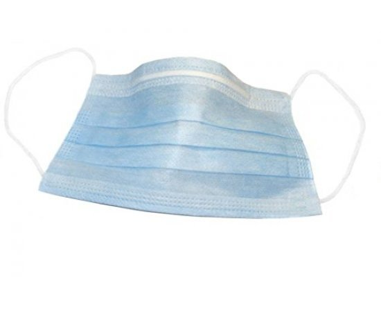3-Ply filtered Disposable Surgical Face Mask (50 Pices)