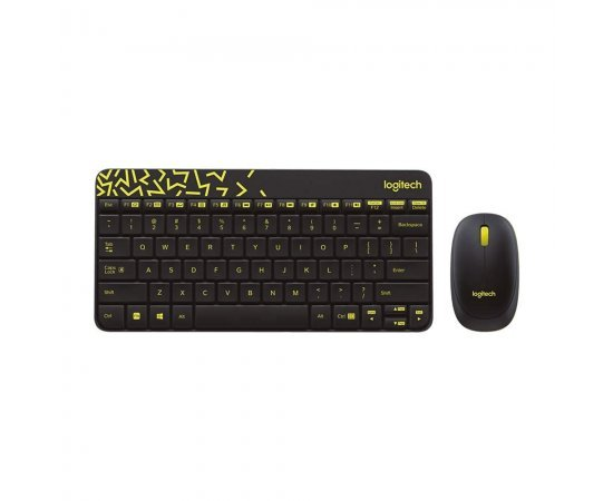 Logitech MK240 NANO Mouse and Keyboard Combo Black Color