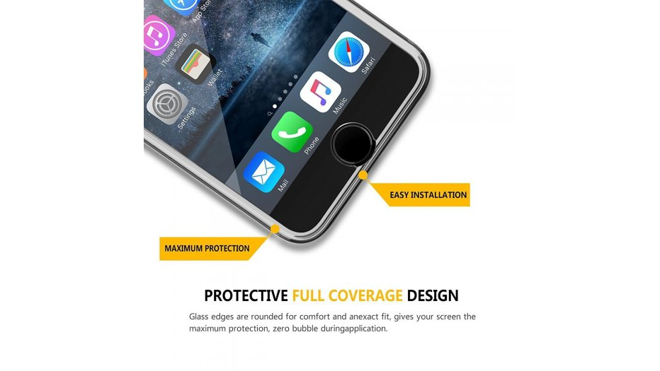 iPhone 8 Plus Screen Protector iAccessories