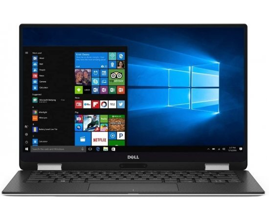"Dell XPS 13 9365 2-in-1 13.3"" FHD Touch Laptop (Intel Core i7-7Y75, 8GB RAM, 256GB SSD, WIndows 10, 1 Year Dell Warranty) (Dell Renewed)"