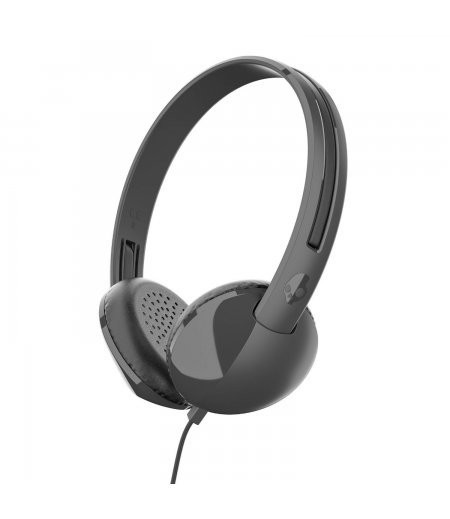 Skullcandy S5LHZ-J576 STIM On Ear Headset with Mic (Black/Charcoal)