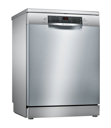 Bosch Dishwasher - 13 Place Settings, 6 Programs, Silver Inox