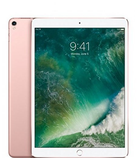 Apple iPad Pro MQF22HN/A Tablet (10.5 inch, 64GB, Wi-Fi + 4G LTE), Rose Gold