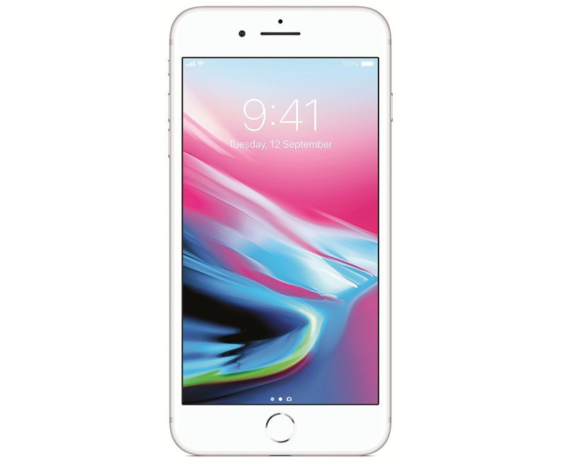 Apple iPhone 8 Plus (Silver, 64GB)