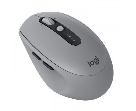 Logitech M590 Silent Wireless Mouse (Multi-Device Silent Bluetooth Mouse for Windows, Mac & Android Devices) - Grey