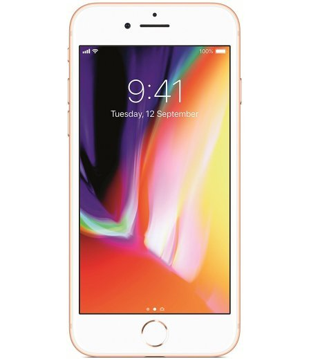 Apple iPhone 8 (256GB, Gold)
