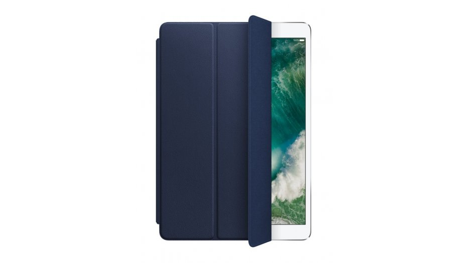 """Apple Leather Smart Cover for 10.5"""" iPad Pro - Black iAccessories"""