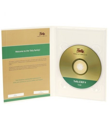 Tally ERP 9 Gold - Multi User (CD)