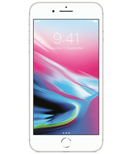 Apple iPhone 8 Plus (Silver, 256GB)