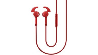 Samsung Earphone With Mic - Red