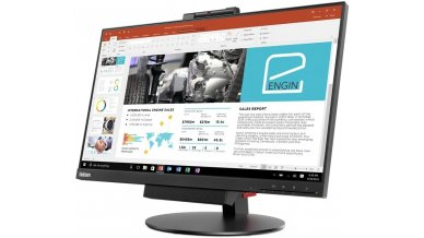 """Lenovo Thinkcentre Tiny-In-One 24"""" 10-Point Multi Touch Monitor"""