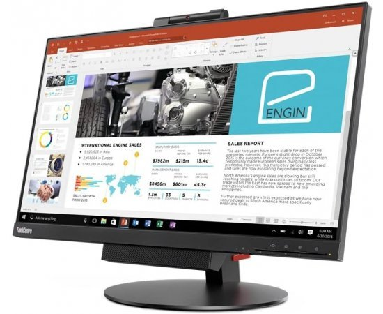 "Lenovo Thinkcentre Tiny-In-One 24"" 10-Point Multi Touch Monitor"