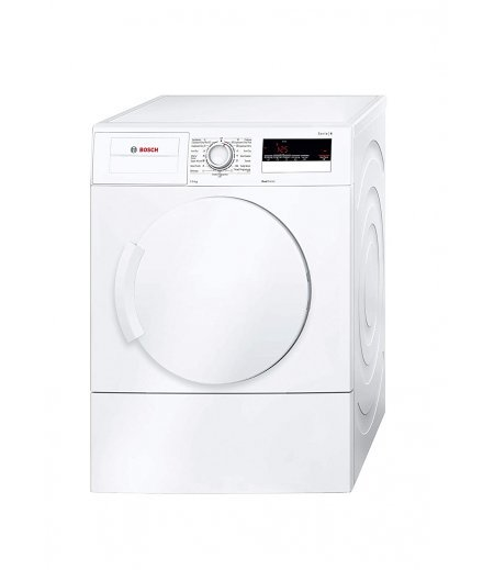 Bosch 7 kg Inverter Fully Automatic Air-Vented Dryer (WTA74201IN, White, Inbuilt Heater)