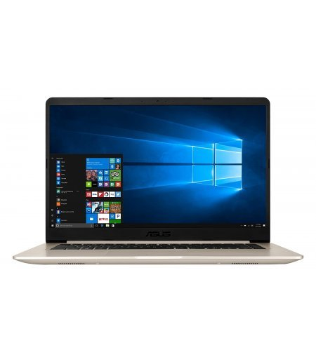 ASUS VivoBook S15 S510UN 15.6-inch FHD IPS Thin & Light Laptop (8th Gen Core i7-8550U, 8GB RAM, 1TB HDD, 2GB NVIDIA GeForce MX150 Graphics, Windows 10, 1.70 Kg), Gold Metal