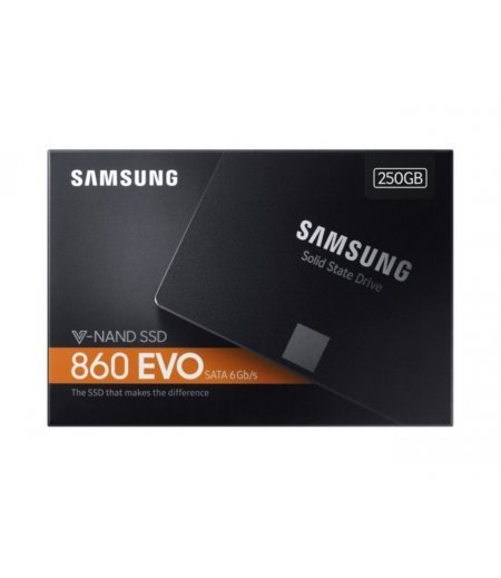 Samsung 860 EVO 250GB 2.5-Inch SATA III Internal SSD (MZ-76E250BW) (2.5 inches)