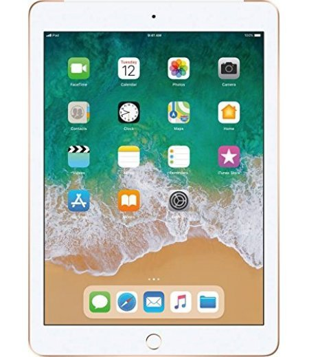 Apple iPad (6th Gen) Tablet (9.7 inch, 32GB, Wi-Fi + 4G LTE), Gold