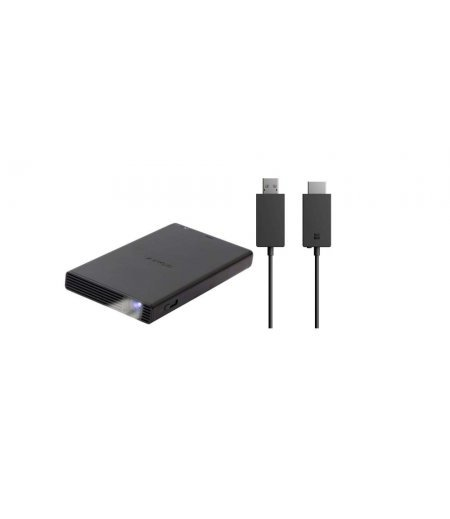 Sony MP-CD1 Compact Pocket Size Mobile Projector (Black)