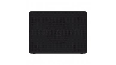 Creative Muvo 2c Water Resistant Bluetooth Speaker for Music Festivals, Concerts, Raves, Dust, and More (Black)