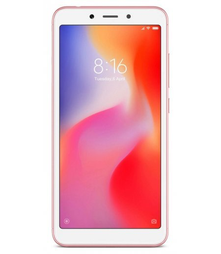 Mi Redmi 6A (Rose Gold, 2GB RAM, 32GB Storage)