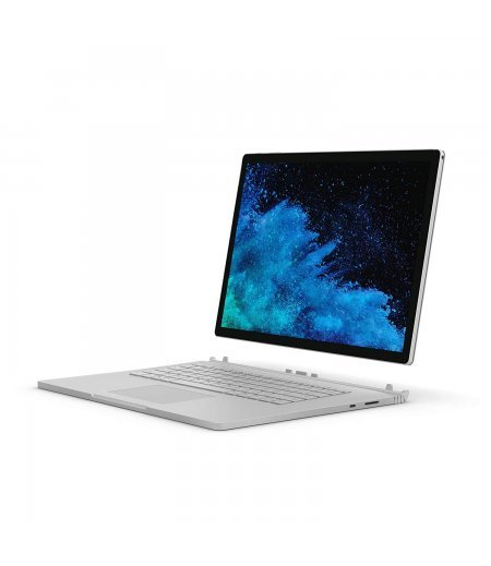 Microsoft Surface 1793 2018 15-inch Book 2 (8th Gen Core i7/16GB/1TB/Windows 10 Pro/Integrated Graphics), Silver