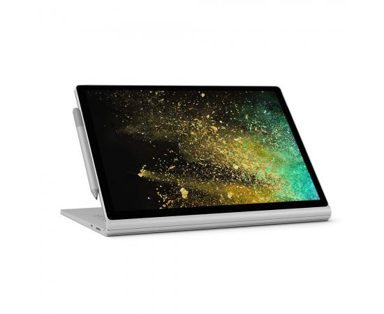 Microsoft Surface Book 2 Intel Core i7 8th Gen 15 inch Touchscreen 2-in-1 Laptop (16GB/256GB/Windows 10 Pro/Integrated Graphics/Platinum/1.642kg)