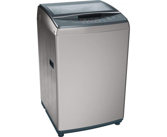 Bosch 7kg Fully Automatic Top Loading Washing Machine(WOE702D0IN, Dark Grey)