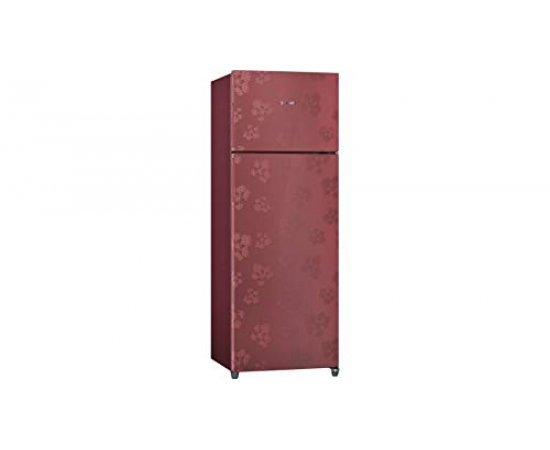 Bosch 3 Star Frost-Free Double Door Refrigerator, 288 L (KDN30VV30I, Wine Red)