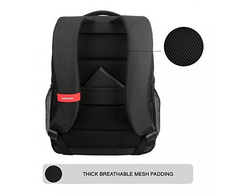 Lenovo Everyday Laptop Backpack B515 15.6-inch Water Repellent Black