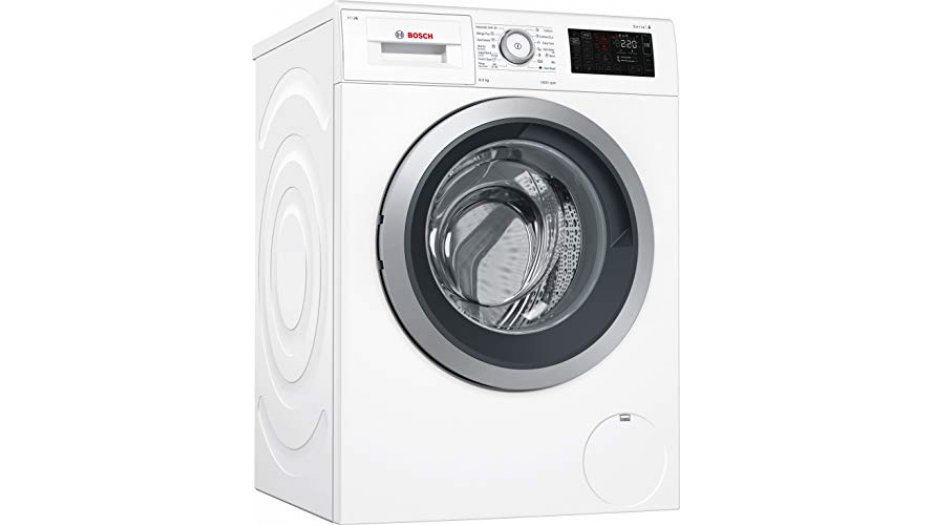 Bosch 8 kg Inverter Fully-Automatic Front Loading Washing Machine (WAT28660IN, White, Inbuilt Heater) Home Appliances