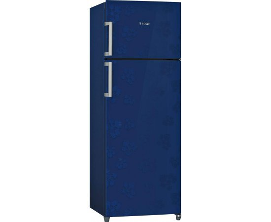 Bosch 288 L 3 Star Frost-Free Double Door Refrigerator (KDN30VU30I, Midnight Blue)