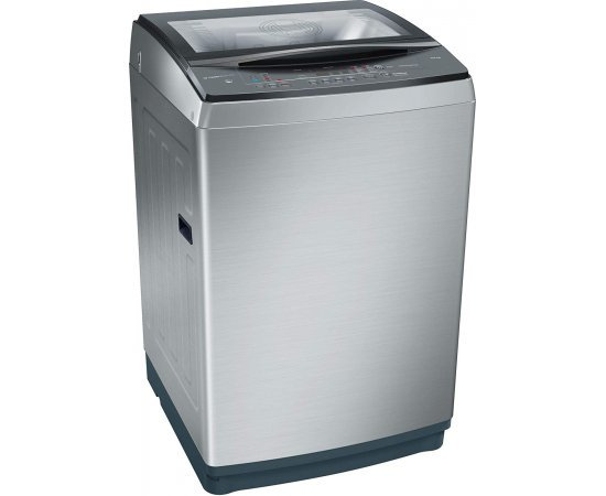 Bosch 9.5 kg Fully-Automatic Top Loading Washing Machine (WOA956X0IN, Inox)