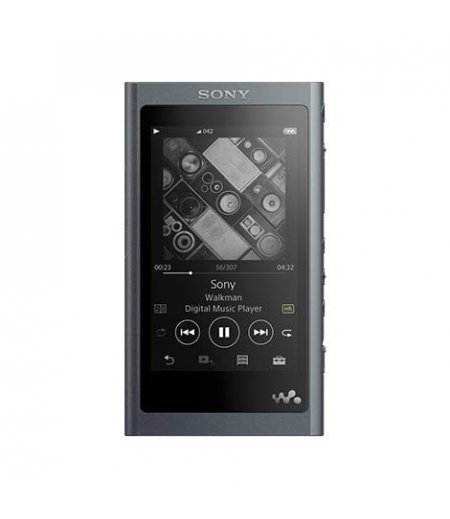 Sony NW-A55 16GB Walkman Hi-Res Audio Portable Digital Music Player with Touch Screen, 45 Hours Battery Life, S-Master HX and DSEE-HX - Black