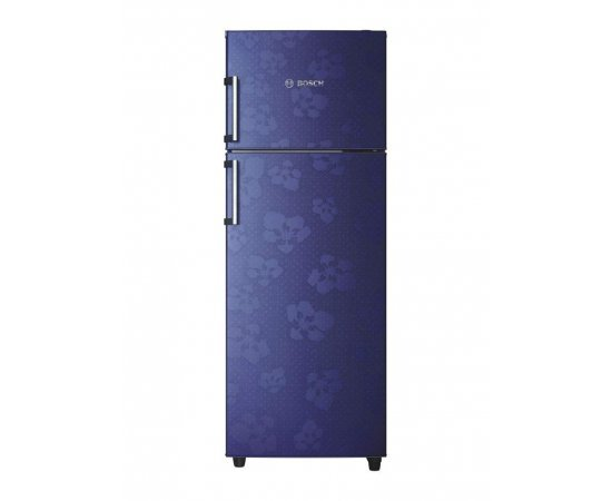 Bosch 347 L 3 Star (2019) Frost-Free Double Door Refrigerator (KDN43VU30I, Midnight Blue)