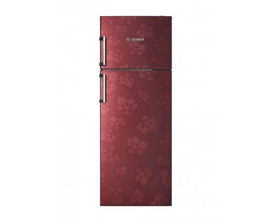 Bosch 347 L 3 Star (2019) Frost-Free Double Door Refrigerator (KDN43VV30I, Wine Red)
