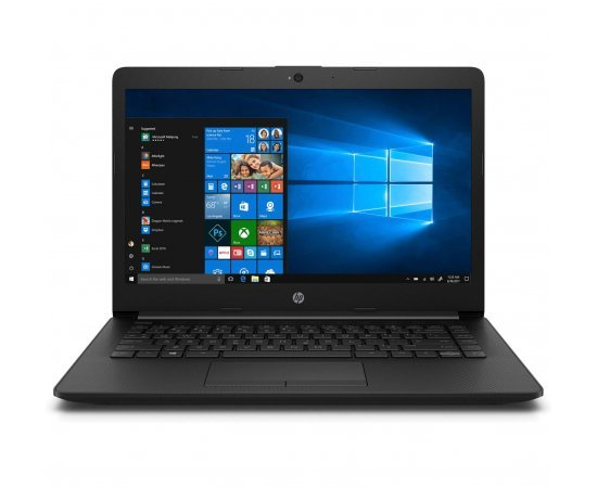 "HP Notebook 14 Thin and Light Laptop (10th Gen Core i5-10210U, 8GB RAM, 312GB SSD, 14"" FHD, Windows 10, Office H&S 2019, 1.6 kg) Jet Black"