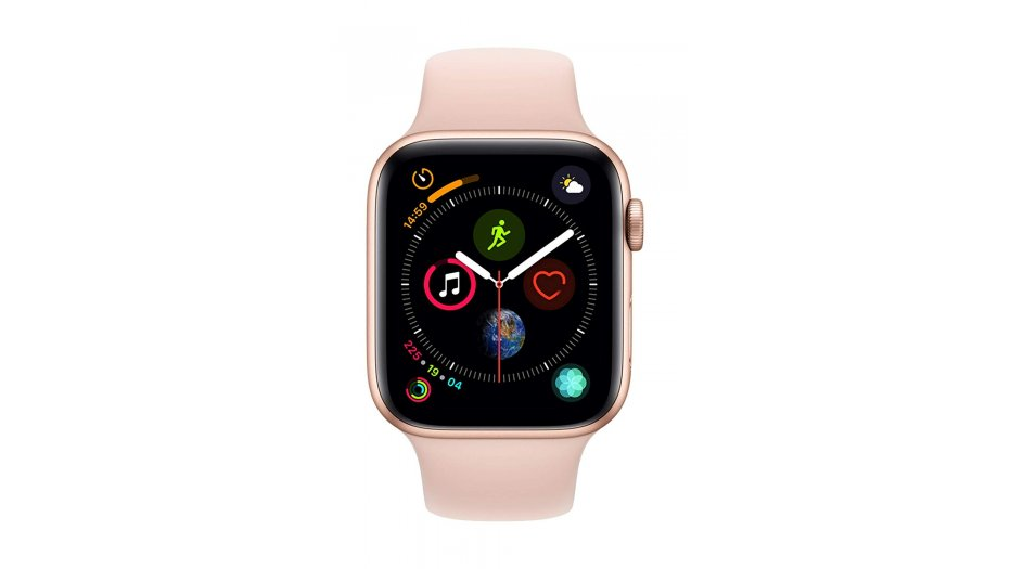 AppleWatch Series4 GPS+Cellular, 44mm Gold Aluminium Case with Pink Sand Sport Band Smart Watches