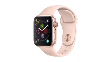 AppleWatch Series4 (GPS+Cellular, 40mm) - Gold Aluminium Case with Pink Sand Sport Band