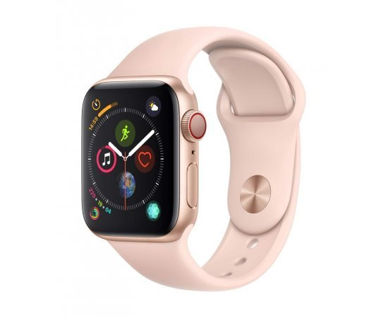 Apple Watch Series 4 (GPS + Cellular, 40mm) - Gold Aluminium Case with Pink Sand Sport Band