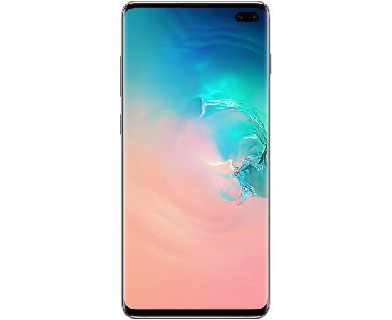 Samsung Galaxy S10 Plus SM-G975FCWHINS (Ceramic White, 12GB RAM, 1TB Storage)