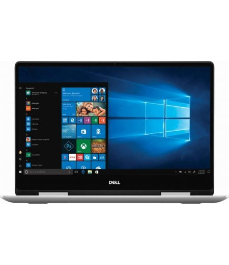 "Dell Inspiron 13 2-in-1 7386 (8th Gen Core i5-8265U, 8GB RAM, 256GB SSD, 13.3"" Full HD, WIndows 10, Office H&S, Active Pen) Silver"