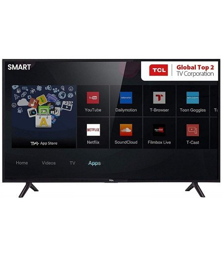TCL 79.97 cm TV (32 Inches) HD Ready Android Smart LED TV 32S6500 (Black)
