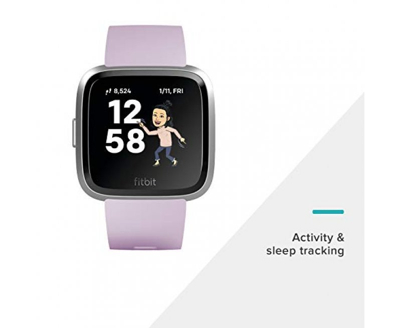 Fitbit Versa Lite Edition Smart Watch (Lilac)