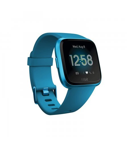 Fitbit Versa Lite Edition Smart Watch (Marina Blue)