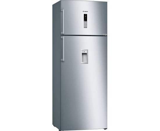 Bosch 401 L 2 Star (2019) Frost Free Double Door Refrigerator(KDD46XI30I, Chrome Inox Metallic, Inverter Compressor)