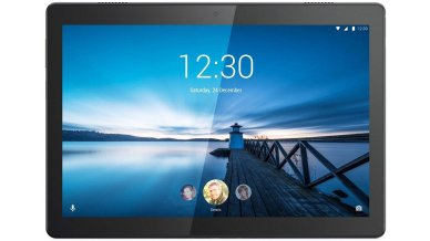 """Lenovo M10 X-605LC Variant 1 Tablet (Qualcomm Octa Core 1.8GHz, 4G Data + WiFi, 2GB RAM, 16GB Storage, 10"""" FHD, 8MP AF   5MP, 7000 mAh, Android 9.0)"""