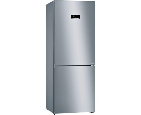 Bosch 415 L 3 Star (2019) Frost Free Double Door Refrigerator (KGN46XL40I, Black, VarioInverter, VitaFresh, Bottom Freezer)