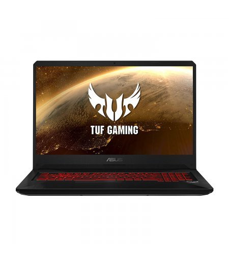 "ASUS TUF FX705DY 17.3"" FHD 60Hz Gaming Laptop with RX 560X 4GB Graphics (Ryzen 5-3550H, 8GB, 1TB HDD, Windows 10, Illuminated Chiclet Keyboard RGB, 2.70 Kg) Black Plastic"