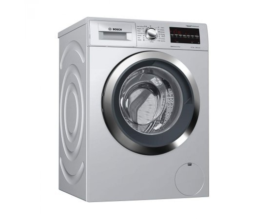 Bosch 8 Kg Fully Automatic Front Load Washing Machine (WAT2846SIN, Silver)