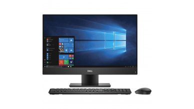 Dell Optiplex All in One 24 inch 7460 Computer ( 9th Gen Core i5-8500, 8GB RAM, 1TB HDD, 23.8 inch Display with Height Adj Stand, Windows 10 Pro, Wireless KB + Mouse,  3 Years Warranty)
