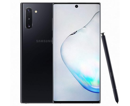 Samsung Galaxy Note 10 (Aura Black, 8GB RAM, 256GB Storage)